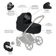 Load image into Gallery viewer, • Cybex, Priam 2020 Lux Carry Cot - Bygge Bo