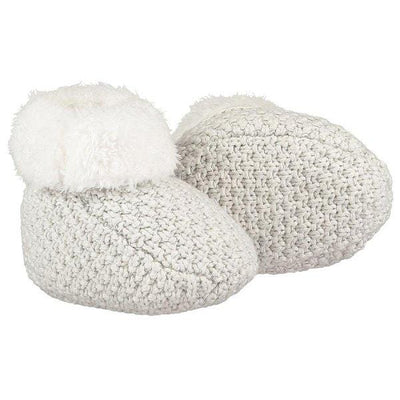 The Little Tailor, Cotton and Plush Lined Booties