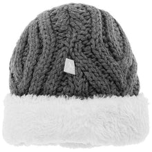 Load image into Gallery viewer, The Little Tailor, Knitted Plush Lined Hat - Bygge Bo
