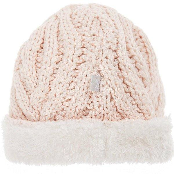 Plush lined Knitted Hat