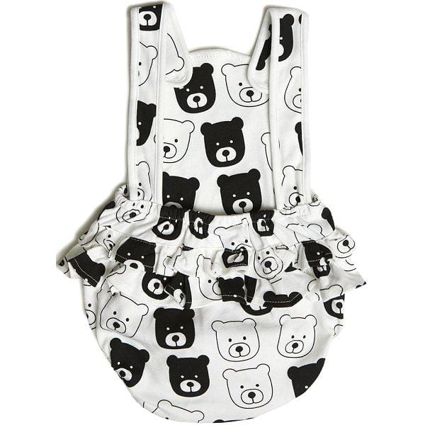 Tobias & the Bear, Bear Ruffle Playsuit