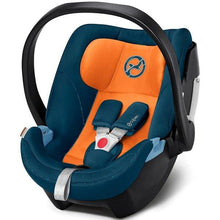 Load image into Gallery viewer, • Cybex Aton 5, Isofix Infant Car Seat - Bygge Bo