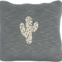 Load image into Gallery viewer, Quax, Knitted Character Cushion 30x30cm - Bygge Bo