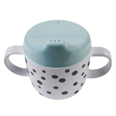 Done by Deer, Happy Dots Spout Cup Blue