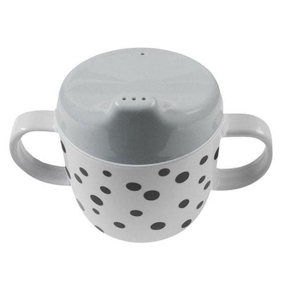 Done by Deer, Happy Dots Spout Cup Grey