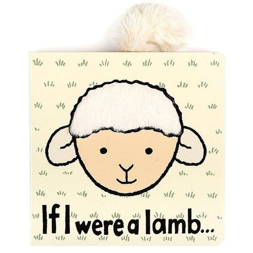 Jellycat, If I were a Lamb Book - Bygge Bo