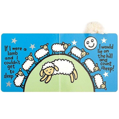 Jellycat, If I were a Lamb Book