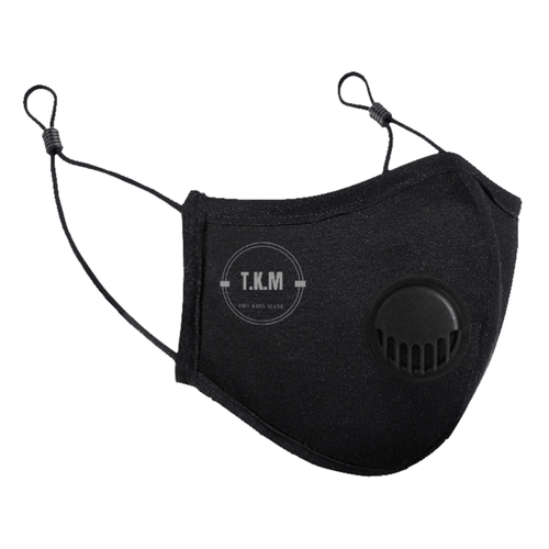 TKM, Adults Black Antiviral and Antibacterial Mask - Innovation Oscar - Bygge Bo