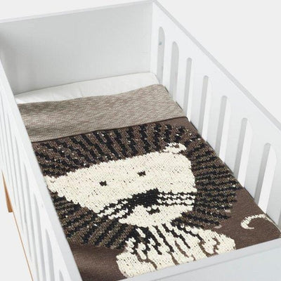 Quax, Character Knitted Blanket 160x100cm
