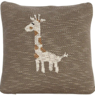 Quax, Knitted Character Cushion 30x30cm - Bygge Bo