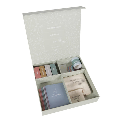 Little Dutch, Baby Memory Box Gift Set - Bygge Bo