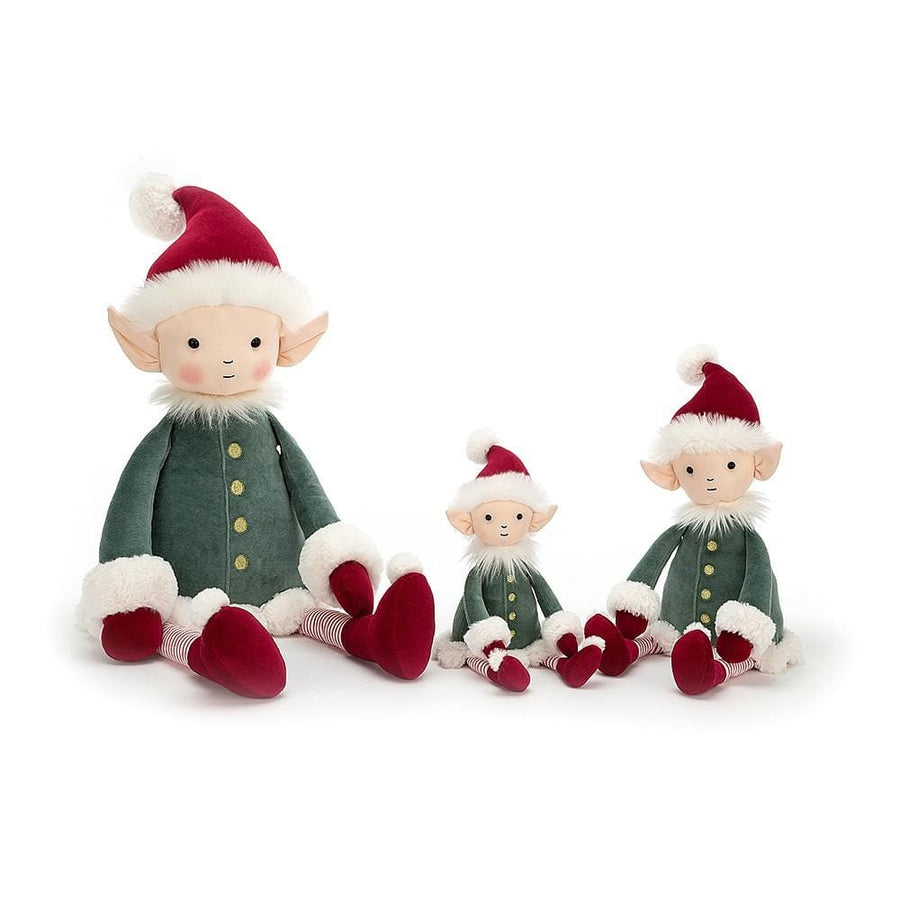 Jellycat, Leffy Elf Medium Size