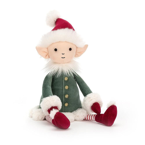 Jellycat, Leffy Elf Medium Size - Bygge Bo