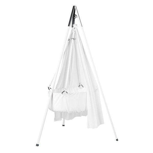 Leander, Cradle Tripod Stand - White - Bygge Bo