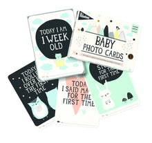 Load image into Gallery viewer, Milestone Cards, Over the Moon Baby Cards - Bygge Bo