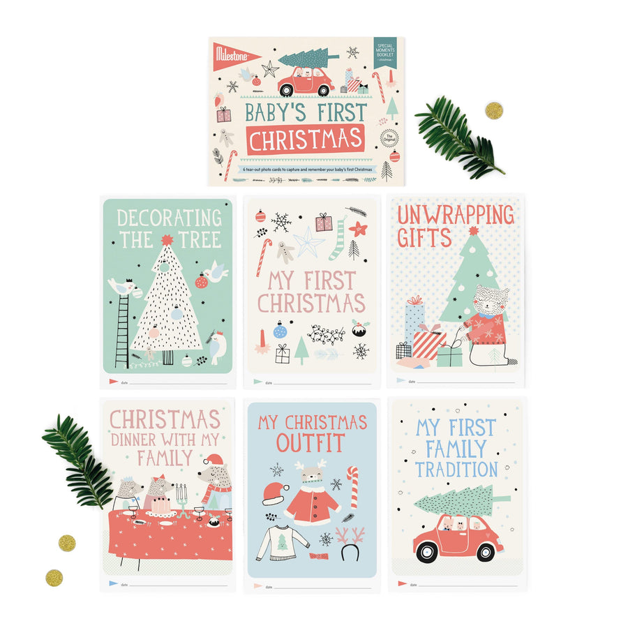 Milestone Cards, Baby's First Special Moments - Christmas