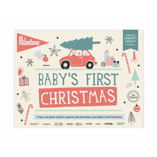 Milestone Cards, Baby's First Special Moments - Christmas - Bygge Bo