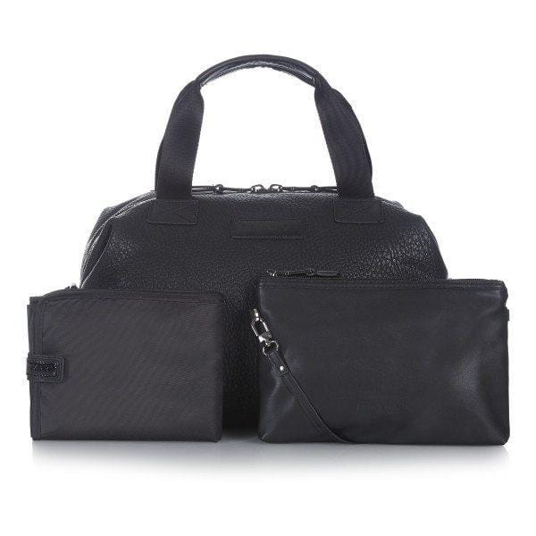 Tiba & Marl, Raf Holdall Black Changing Bag - Bygge Bo