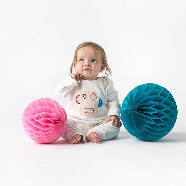 From Babies with Love, Monkey Organic Cotton Gift Set - Bygge Bo