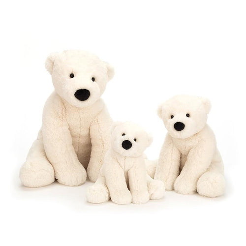 Jellycat, Perry Polar Bear Medium Size - Bygge Bo