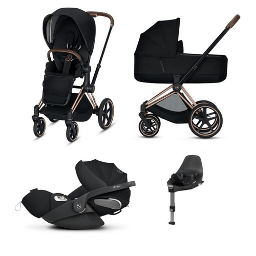 Cybex, 2020 Priam Lux Travel Bundle w/ Cloud Z Plus - Bygge Bo