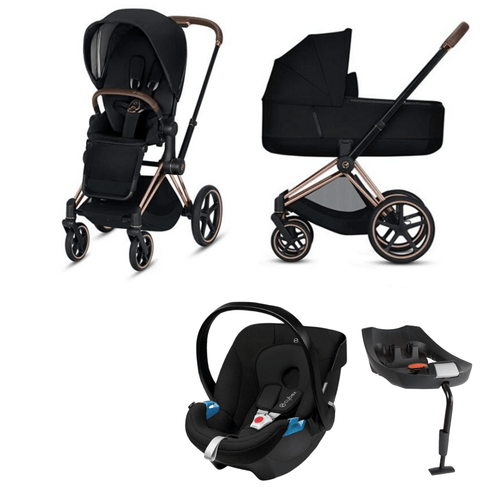 Cybex, 2020 Priam Lux Travel Bundle w/ Aton - Bygge Bo