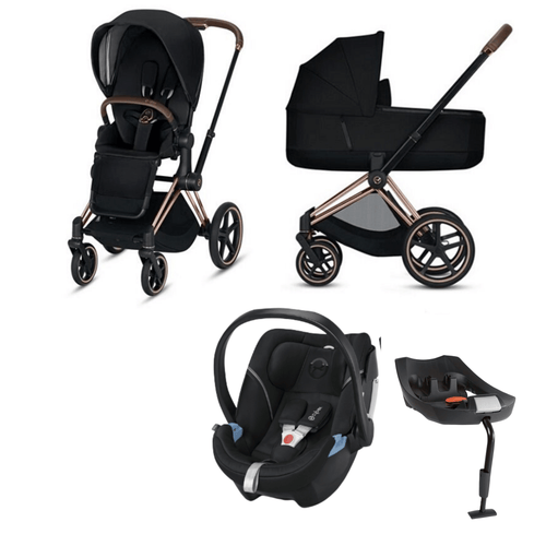 Cybex, 2020 Priam Lux Travel Bundle w/ Aton 5 - Bygge Bo