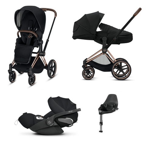 Cybex, 2020 Priam Lite Travel Bundle w/ Cloud Z - Bygge Bo