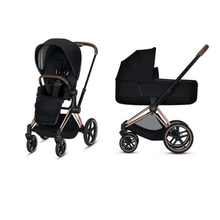 Load image into Gallery viewer, Cybex, 2020 Priam Pushchair with Lux Carry Cot - Bygge Bo