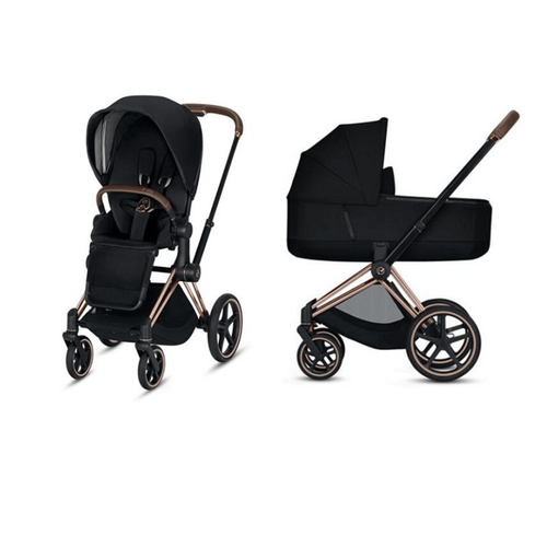 Cybex, 2020 Priam Pushchair with Lux Carry Cot - Bygge Bo