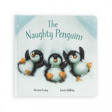 Load image into Gallery viewer, Jellycat, The Naughty Penguins Gift Book