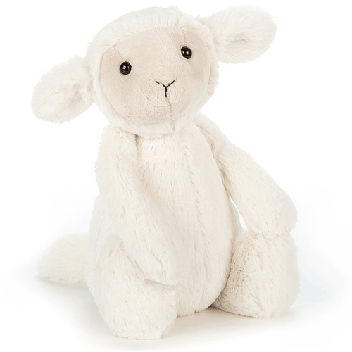 Jellycat, Bashful Lamb Medium Size - Bygge Bo