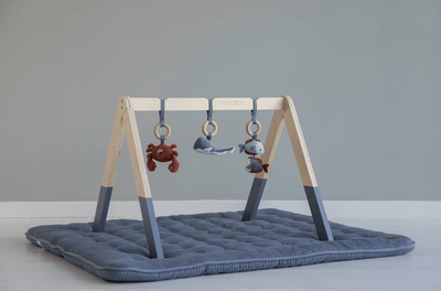 Little Dutch, Ocean Wooden Play Gym with Toys - Bygge Bo