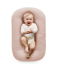 Load image into Gallery viewer, Snuggle Me, Organic Baby Nest/Lounger, Sugar Plum - Bygge Bo