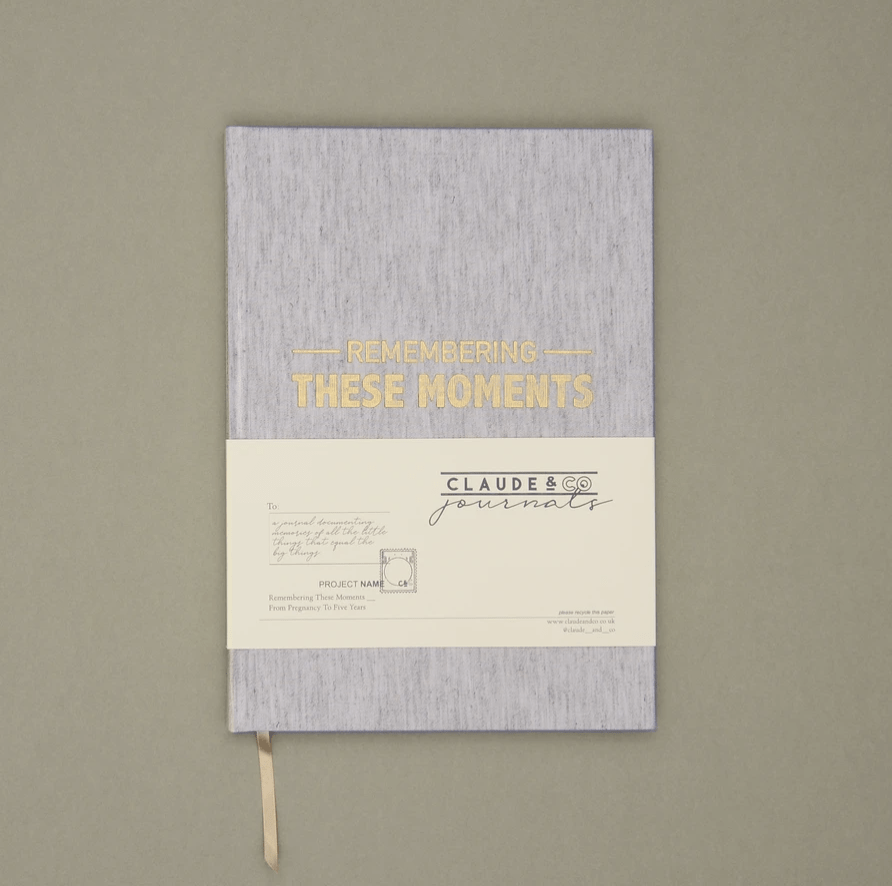 Claude & Co, Remembering These Moments Linen Journal - Bygge Bo