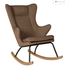 Load image into Gallery viewer, Quax, Rocking Nursing Chair De Luxe Adult Size - Bygge Bo