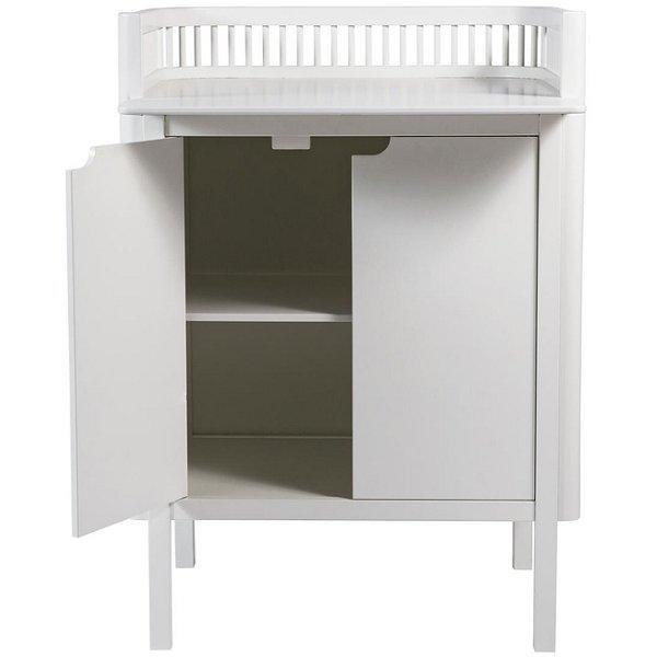 Sebra, 2-in-1 Changing Unit White