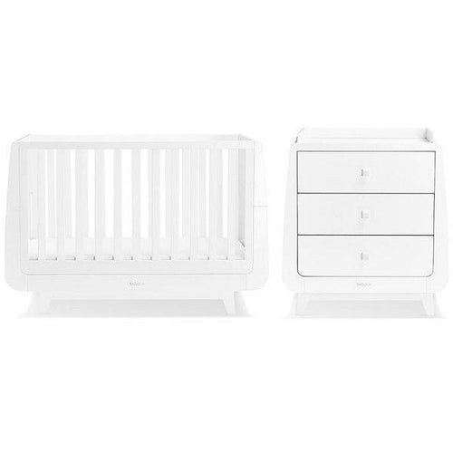SnuzKot Luxe 2 Piece Nursery Furniture Set - Bygge Bo
