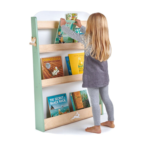 Tenderleaf, Wooden Bookcase - Bygge Bo