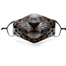 Load image into Gallery viewer, TKM, Kids Cotton Animal Facemask - Bygge Bo