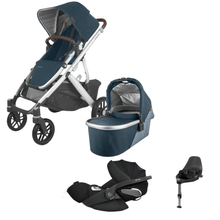 Load image into Gallery viewer, Uppababy, Vista V2 2020 Travel Bundle w/ Cloud Z - Bygge Bo