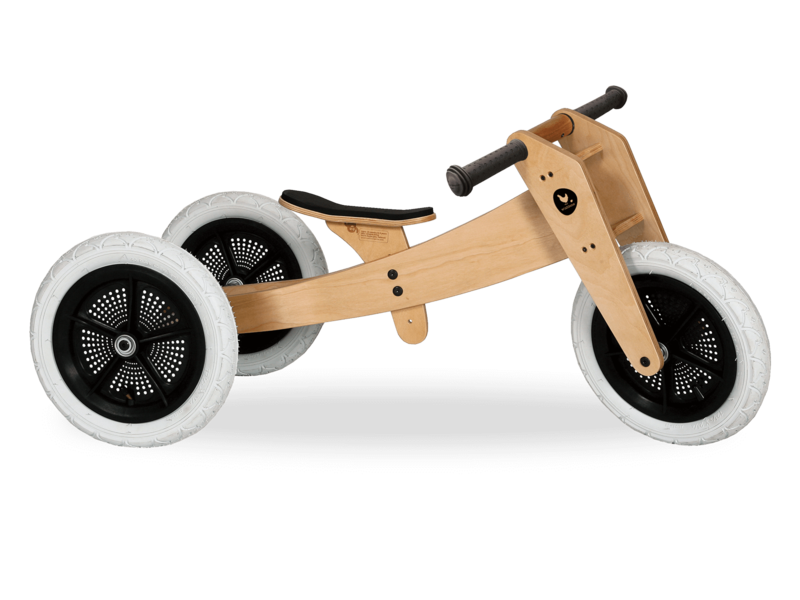 Wishbone,  3-in-1 Wooden Balance Bike - Bygge Bo