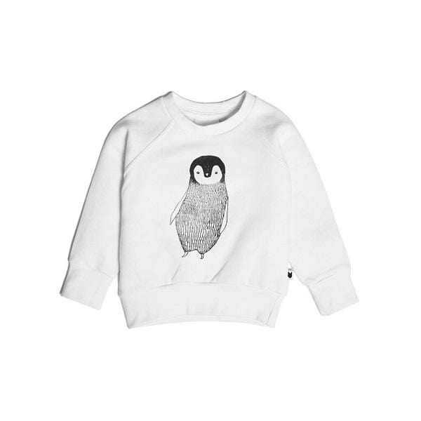 Tobias & The Bear, Percy The Penguin Sweatshirt - Bygge Bo