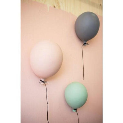 BY ON, Balloon Wall Decoration 17cm x 23cm - Bygge Bo
