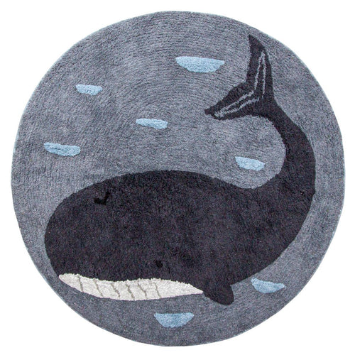 Sebra, Seven Seas Collection, Marion Whale Rug - Bygge Bo