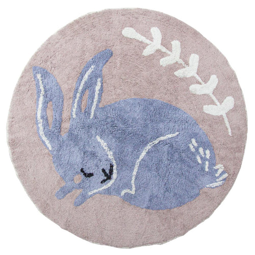 Sebra, Day Dream Collection, Bluebell Bunny Rug - Bygge Bo