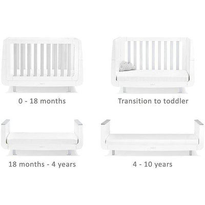 SnüZkot Mode Cot Bed Grey
