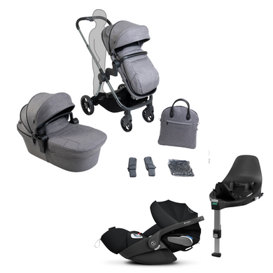 *BF Offer* iCandy, Lime Lifestyle Travel System w/ Cloud Z - Bygge Bo