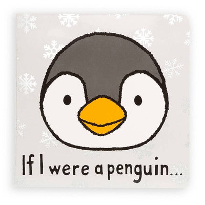 Jellycat, If I were a Penguin Gift Book - Bygge Bo
