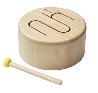 Plan Toys, Mini Drum - Bygge Bo